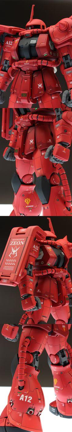 [해외] MG 자쿠2 MS-06S :: LONDO BELL