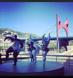 #Guggenheim #NikkydeSaintPhalle #Statues#Bilbao#InstitutoHemingway#LearnSpanis#Culture