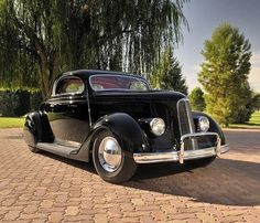 """1,225 Likes, 15 Comments - Kustomrama (@kustomrama) on Instagram: """"Jack Calori's 1936 Ford coupe is one of the most iconic #1936FordCustom s of all time. Jack bought…"""""""