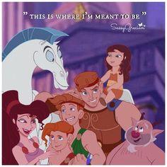 Fan Image - Hercules, Meg, & Family