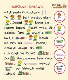 Polish Language, Homeschool, Classroom, Education, Reading, Words, Speech Language Therapy, Poland, Vocabulary