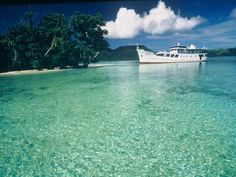 Dive into the gorgeous clear waters of the Solomon Islands on the 38 meter liveaboard ships from Bilikiki Cruises