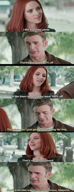 That's why cap is a virgin.