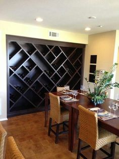 I wonder if we could do something like this in the huge area above our wet bar. Uploaded by user