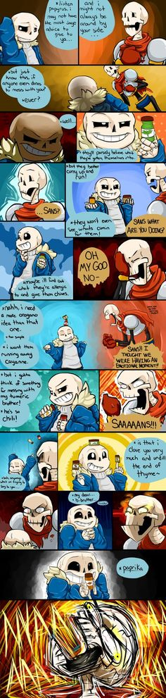 Herbal Puns with Sans Source Notes: UT - I Herb you liked Puns by SuperSmashWolves