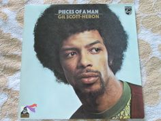 Gil Scott-Heron ‎Pieces Of A Man Philips ‎6369 415 UK Vinyl LP Album