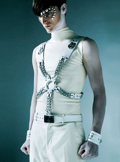 Customized ▲ ✕ harness ▲ ME 2.0 - All White Party