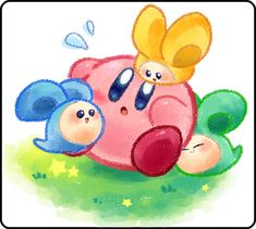 Kirby: Squeak Squad by SakikoAmana on deviantART i love this game too, even though it can be hard at times!