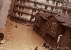 Uholdeak Erromon / Inundaciones en Romo, 1977 (Cedida por Cristina Quintela) (ref. 03140)