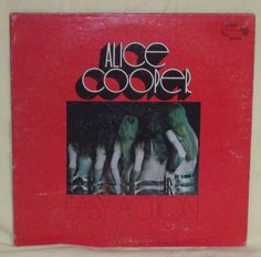 "Alice Cooper- Easy Action: Straight Records WS 1845 33 RPM 12"" Warner Bros. Rock #HardRockExperimental"