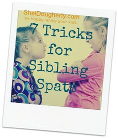 "Sibling Rivalry -- helping kids get along. Hope my kids do a better job than I. Maybe this will help. Although the ""Get Along T-Shirt"" is still one of my favorites."