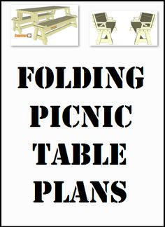 Folding picnic table plans, free PDF download, includes how-to step-by-step instructions, drawings, measurements, shopping list and cutting list. Folding Picnic Table Plans, Diy Picnic Table, Step By Step Instructions, Woodwork, Furniture Ideas, Goodies, Backyard, Pdf, How To Plan