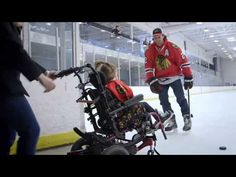 This Little Girl Can't Walk But That Didn't Stop Her From Playing Hockey Like A Champ