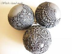 кружевные шары большие