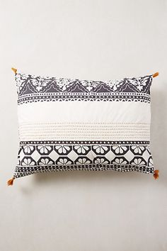 Enmore Embroidered Shams #anthropologie
