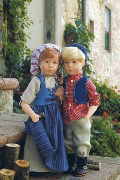Jakob (left) 52701 by Kathe Kruse
