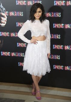 "Vanessa Hudgens at the ""Spring Breakers"" photo call held at the Villamagna Hotel in Madrid on February 21, 2013"