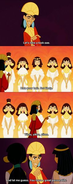 """Love """"The Emperor's New Groove""""!!! One of the funniest cartoons out there! :~)"""