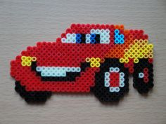Lightning McQueen Hama Sprite by rinoaff10 on deviantart