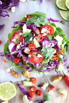 15 Healthy Breakfast Recipes For Flat Belly - Ideas To Lose Weight Healthy Wraps, Veggie Wraps, Lettuce Wraps, Lettuce Leaves, Healthy Breakfast Recipes, Vegetarian Recipes, Healthy Recipes, Healthy Dinners, Clean Eating