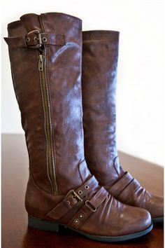 Westward Buckle Boots - Boots / Shoes