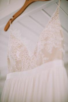 Dreamy Leanne Marshall wedding dress   Image by Jamie Mercurio Photography