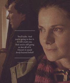 Sherlock Molly Hooper sherlolly... FEELS! :'((