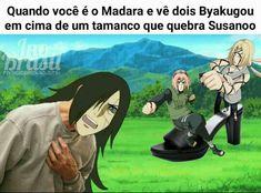Ah mano hahahah Naruto Shippuden Sasuke, Sasuke Sakura Sarada, Madara Uchiha, Naruto And Sasuke, Anime Meme, Otaku Anime, Kpop Anime, Naruto Meme, Anime Naruto