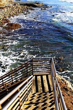 been here! every visit we hike up and take the stairs down, then finish with a walk along the ocean :) #perfect