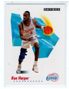 Sports Cards Basketball - 1991 Skybox Ron Harper