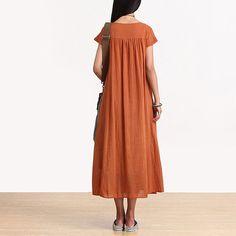 Loose Fitting Long Maxi Dress Summer Dress от deboy2000 на Etsy