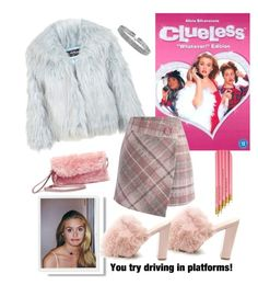 """""""Clueless"""" by elise-gehrke ❤ liked on Polyvore featuring Steve Madden, Miss Selfridge, Chicwish and Bling Jewelry"""
