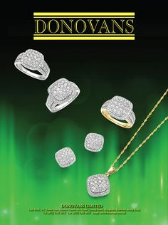 Donovans Ltd. #HKJE #Magazine #SpringSummer2016 #Advertisement #Jewellery #Diamond #FineJewellery