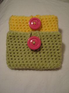 Ipod Cozy crochet Tutorial ✿⊱╮Teresa Restegui http://www.pinterest.com/teretegui/✿⊱╮