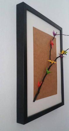 Framed Cranes #beyondorigami