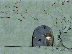 Korean Illustrator Series :Art Painting by Soo Hyun   - Beautiful Artistic illustrations  by Soo Hyun  17