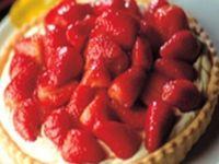 Strawberry and Mascarpone Tart #AngosturaBitters #recipe #yummy