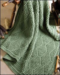 Bobble Diamonds Afghan, page 24