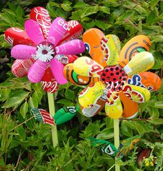 Pop Can Flowers http://wp.me/p23Xuj-45b