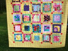like my grandma's quilts, only with a modern feel