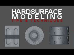 HardSurface Modeling Tips and Techniques in Cinema4D - YouTube