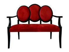 mobilier cafenea, bancuta Baroc custom made