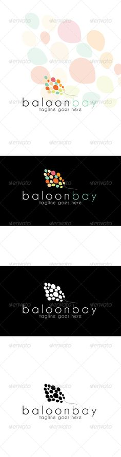 Baloonbay	 Logo Design Template Vector #logotype Download it here: http://graphicriver.net/item/baloonbay-logo/4063267?s_rank=448?ref=nexion