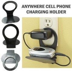 Cell Phone Charger Holder Foldable Stand Travel Gadget