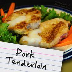 Recipes for Diabetes: Pork Tenderloin
