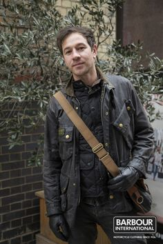 Whatever your Barbour means to you, it's how you wear it that makes it your own. Celebrating the style of a million different people with. Wax Jackets, Men's Coats And Jackets, Barbour International Jacket, Barbour Clothing, Jacket Outfit, Waxed Cotton Jacket, Barbour Mens, Mature Fashion, Country Fashion