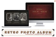 Retro Photo Album PPT Template by Blixa 6 Studios on Creative Market