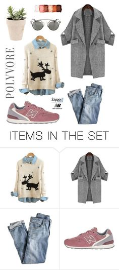 """""""Run the World in New Balance"""" by almasimaryam ❤ liked on Polyvore featuring art and NewBalance"""