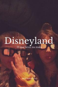 O que levei na mala para a #Disneyland #Paris?