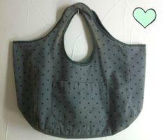"""Le tuto du sac cabas """"PB like"""" pour """"comme Petit B*teau"""" parce que la forme de ce sac est plus qu'inspirée d'un sac Petit B*teau existant !"""
